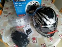 Bikemate motorcycle helmet. Brand new.