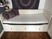 Ikea Hemnes Day Bed With 2 Mattresses!