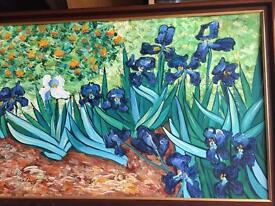 4 Original paintings, oil or acrylics in quality frames (see additional photos).