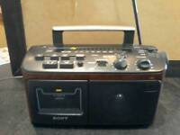 Sony transitor radio cassette