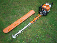 "2016 Stihl HS82 RC 32"" Double Sided Swivel Handle Petrol Hedge Trimmer hs81r hs81t"