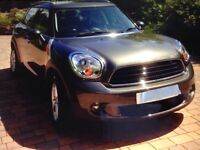 Mini Countryman one. Storm Grey colour. 3 years old.