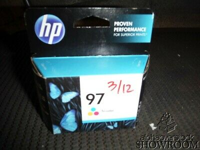 New Factory Sealed Box Genuine OEM HP 97 C9363WN Tri-Color Inkjet SEP 2013
