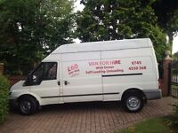 MAN AND VAN, FORD VAN HIRE £20 per hour or ONLY £60 A DAY WITH DRIVER