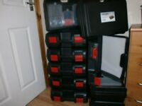 PROTECT YOUR POWER TOOLS GOOD STRONG PLENTY ROOM. NEW Plastic Power Tool Cases