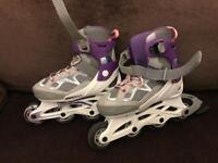 Kids roller blades oxelo - girls feet size 13-2.5