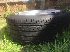 Used tyres Goldway R838 and audi rims Harlow
