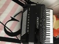 Accordion Fantini 120 bass