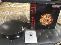 Electric wok for sale unused