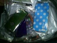 Job Lot of 50+ IPhone + Smartphone Cases / Screen Protectors - Brand New!