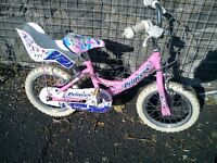 "Girl's Princess Bike 12"" wheels"