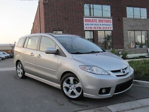 Sporty 2007 Mazda MAZDA5 GT, 6 Passenger, ONLY 5499! Certified