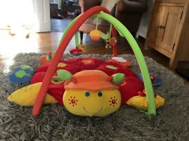 Mamas and Papas Luxury Playmat & Gym - Light & Sound Lotty