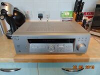 sony str-de485e 5 1 surround sound amp with remote in good condition