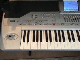 Korg PA1X and Roland BK5 Arranger keyboards