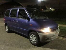 Nissan Serena 1.6 petrol manual8 seater 151k New MOT for1 year New clutch and breaks all round