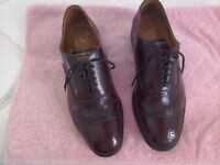 Men's smart shoes size 8 Burgundy REDUCED