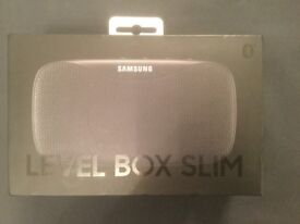 Brand New Sealed Samsung Level Box Slim Bluetooth Speaker - Black £75