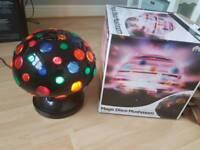 Prosound Magic Disco Mushroom Spinning Party Light