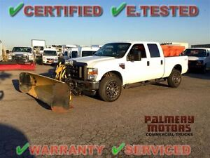 2009 Ford F-350 DIESEL FISHER PLOW SALTER