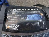Vango Colorado 6 Man tent and extras