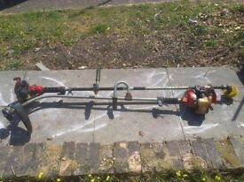 2 spare and repair petrol grass trimmers
