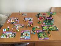 Lego friends 9 sets.