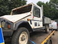 Umm transact 4x4 pick up 1990 2.5 diesel pick up spares repairs