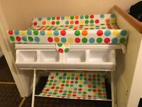 Baby bath with stand