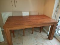 6-10 people Extending Dining Table from Next - Good Condition