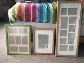 Wooden Picture Frames (Various sizes)