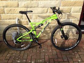 Whyte T129S Full Sudpension Bike Medium Frame Like New