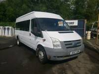 Ford Transit Minibus, 2007, 17 Seater,55k,Service History,Towbar, Exellent condition,12 months MOT