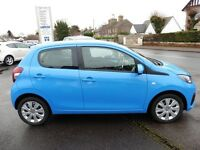 Peugeot 108 Active 5dr (blue) 2015