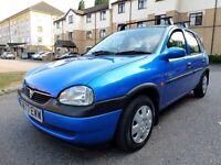 1998 Vauxhall Corsa 1.2 16v Automatic 5 door, hpi clear £400