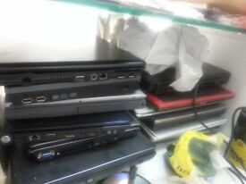 Job Lot laptops-More than 20 untested laptops selling all in a Lot for spare parts. £10 Each.