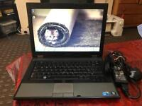 Powerful intel i5 Dell Latitude business laptop solid reliable with original charger