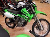 Kawasaki KLX 250 -2009 / White/Green