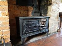 Antique Cast Iron Range