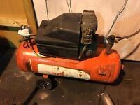 Clarke 50 litre compressor