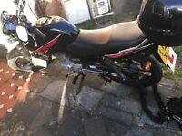 Yamaha YBR 125cc 2013 - £1.100