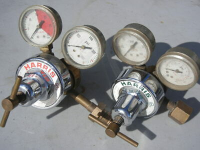 Harris Two Stage Oxygen Acetylene Welding Regulators