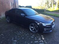 Audi A5, 2.0 TDI, Coupe S Tronic, Black Edition, 2014, 42,000 miles