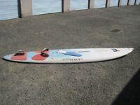 Mistral Shredder Windsurf Board + complete rig
