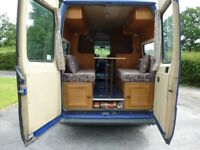 Fully equipped camper van. Only selling due to rust problem (MOT fail). Great for a project.