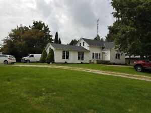 Country home for lease. Brantford,Ontario