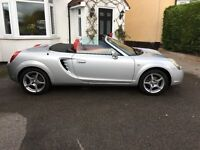 Lovely example Toyota MR2 46kmiles(Hardtop and stand) MOT till Aug 17 , service history - 8stamps