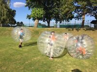 Join in the fun with bubble football an experience you won't forget!