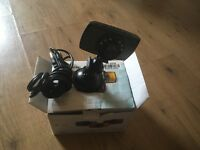 Like new dash cam with box & charger £25