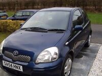 (54) 2004 Toyota Yaris ,998 cc, LOW, LOW MILES of 59,711 ONLY, MOT February 2018, Service History